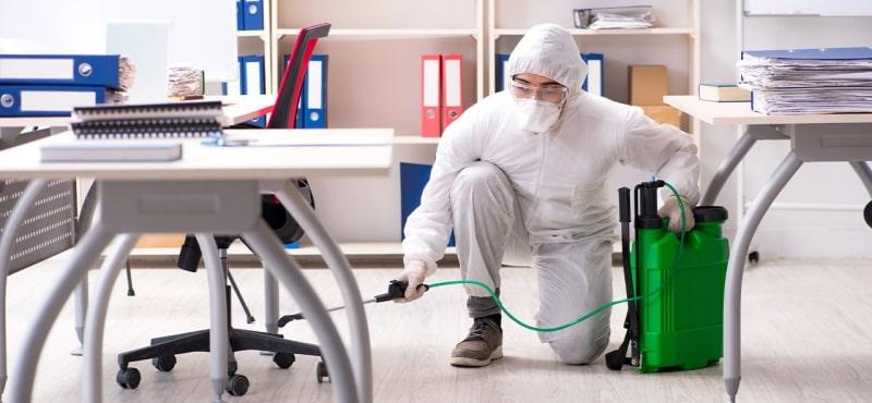 Desinfección para empresas