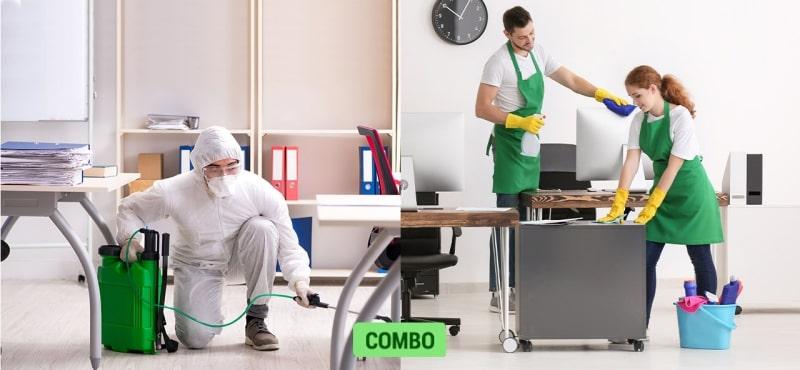 Aseo + Desinfección de empresas