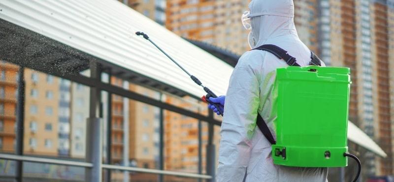 Desinfección de obras para construcción